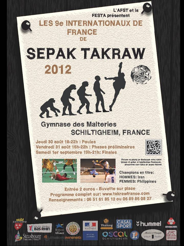 Affiche des Internationaux 2012